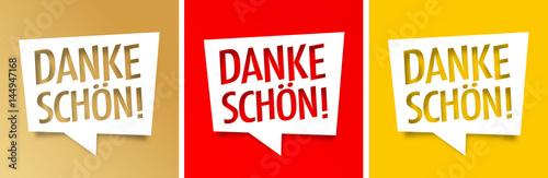 Fototapeta  Danke schön