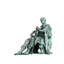 Bronze Statue Of Constantine I...