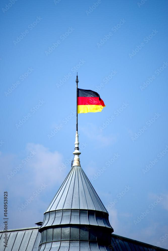 deutschlandfahne zum ausmalen