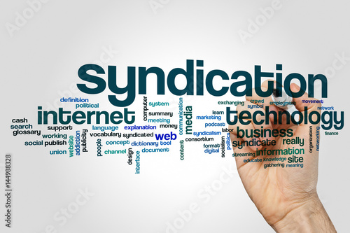 Photo  Syndication word cloud