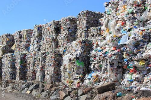 M lldeponie mit Plastik Kunststoff Verpackungen kaufen