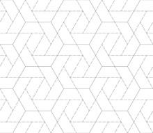Seamless Pattern With Geometri...