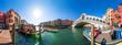 Venedig, Rialtobrücke, Panorama