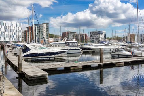 Fotografia Ipswich Marina in Ipswich,UK