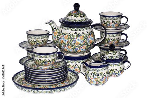 Fényképezés  zestaw ceramika na stół