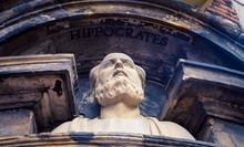 Hippocrates Statue Amsterdam