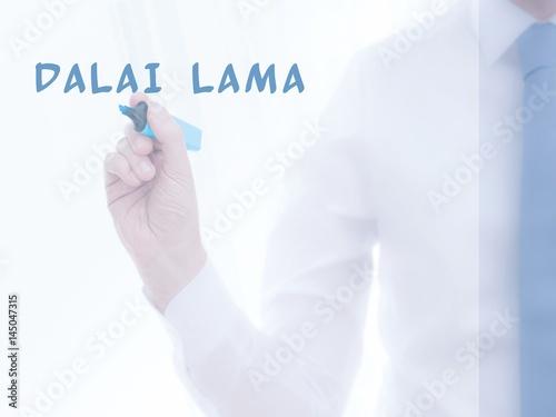 Fotografie, Obraz  Dalai Lama
