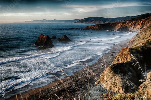 Tablou Canvas The picturesque Sonoma  California coastline