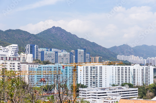 Hong Kong cityscape Poster