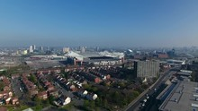 Low Aerial View Of Manchester,...