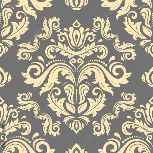 orient-wektor-zloty-wzor-klasyczny-bezszwowy-abstrakcjonistyczny-tlo-z-wielostrzalowymi-elementami-orientuj-tlo