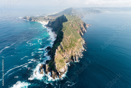 Garden Poster South Africa Cape Point (South Africa) aerial view