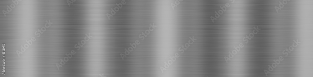 Fototapety, obrazy: Dark gray background, brushed metal texture