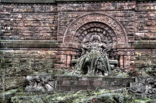 Photo Kaiser Barbarossa Kyffhäuser Denkmal Thüringen