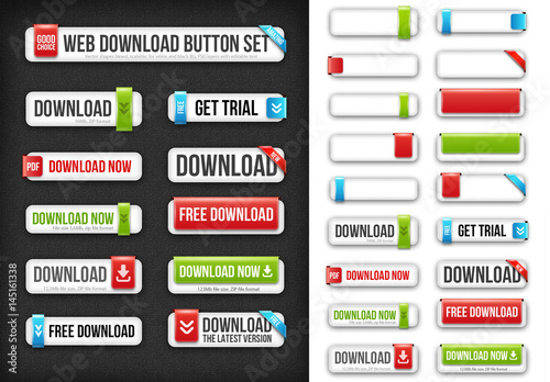 Editable Buttons with Rounded Corners  Buy this stock template and