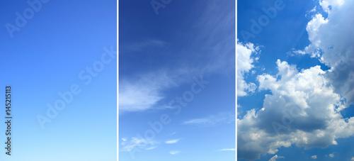 Sky backgrounds set