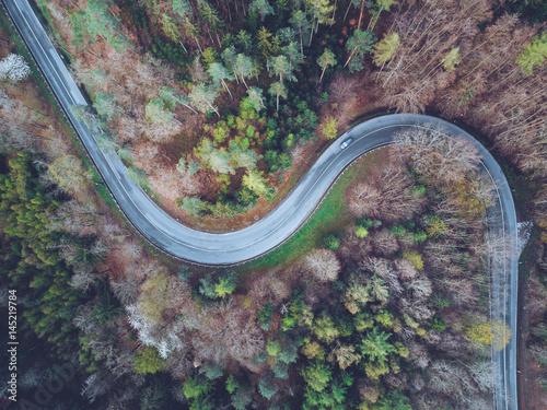 Garden Poster Air photo Drohne