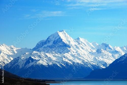 Photo プカキ湖とマウントクック