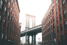 Manhattan Bridge From Washingt...