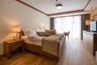 Hotel apartment, bedroom interior