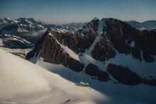 Serradets Mountain Refuge In Sunrise Light