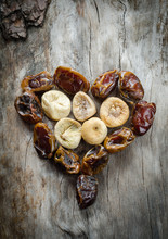 Assortment Of Dried Figs And D...