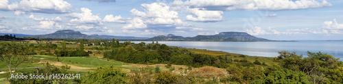 Photo  Nice panorama landscape from Hungary (Lake Balaton)