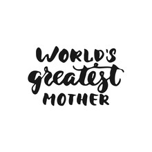 World's Greatest Mother - Hand...