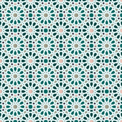 FototapetaTraditional Arabic geometric seamless pattern.