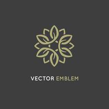 Vector Logo Design Template - Beauty Spa Concept