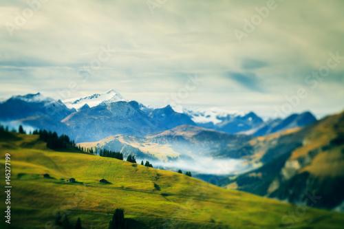 Fotografiet  Alpine Landscape