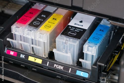 Fotografía  printer ink cartridges