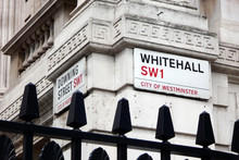 Downing Street And Whitehall I...