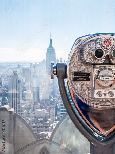 Top of the Rock view, Manhattan. New York