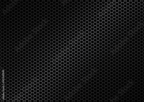 Poster Metal abstract metal texture background vector illustration