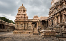 Ancient Hindu Temple At Darasuram, Tamil Nadu, India