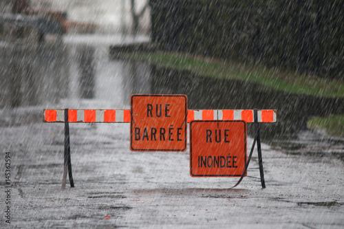 Plakat Wody powodziowe