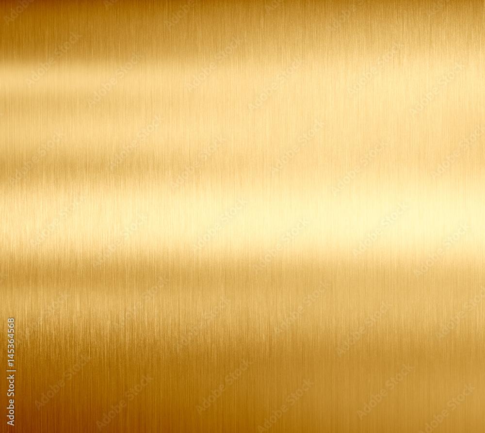 Fototapety, obrazy: gold metal texture