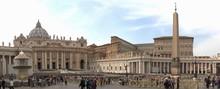 Vatikan Und Petersdom In Rom P...