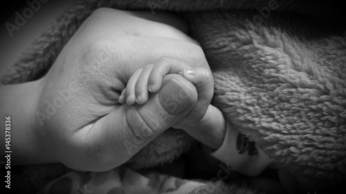 Photo  Little baby's hand