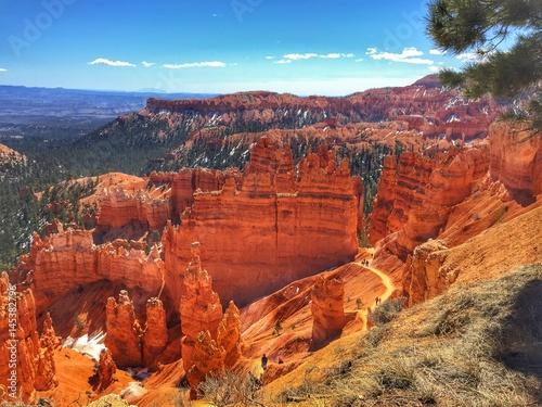 Tuinposter Baksteen Bryce Canyon