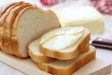 Bread With Butter For Breakfast