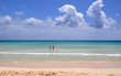 Amazing corralejo beach on Fuerteventura canary island