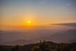 stunning scenery on hilltop near the border Thai -Myanmar