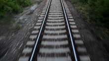 Railway, Locomotive Cab View