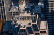 アメリカ・ニューヨークの高層ビルの屋上
