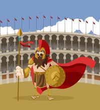 Arena Coliseum Gladiator Spartan