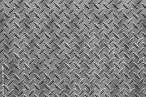 Metal checkerplate flooring Wallpaper Mural