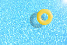 Yellow Swimming Pool Ring Floa...