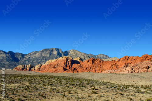 Panoramic View of Red Rock Canyon Poster